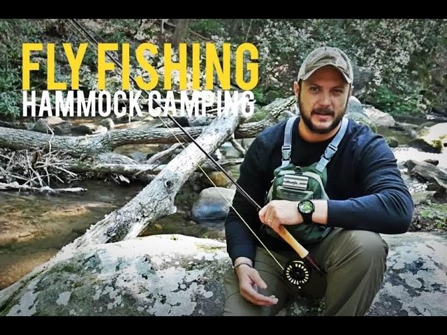 Fly FishingHammock Camping in the Mountains   Fishing Videos